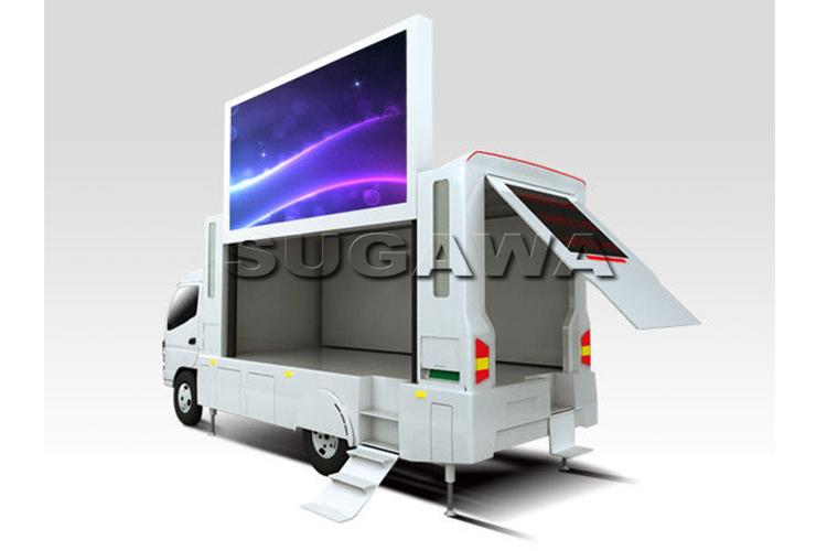 светодиодный мобильный грузовик