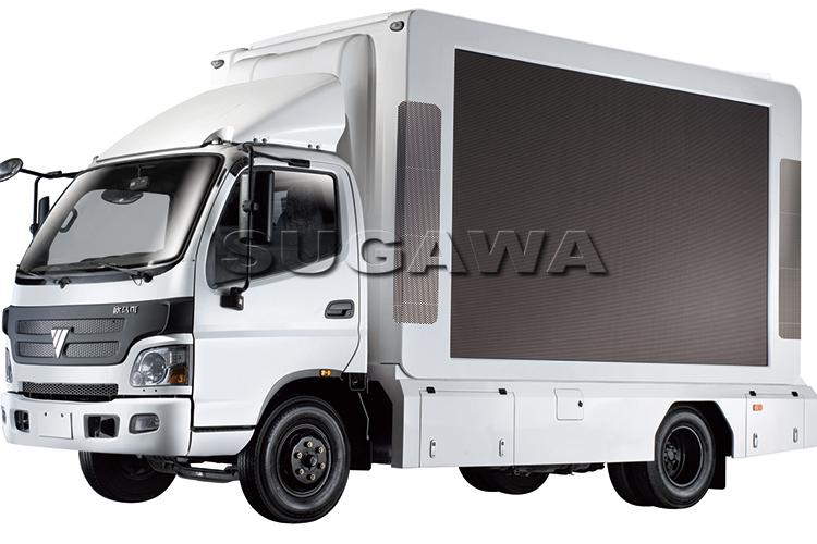 грузовик с led