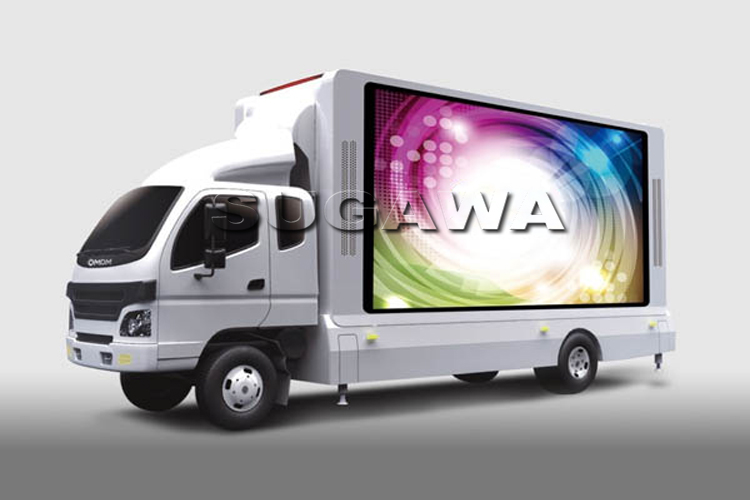 грузовик светодиодного экрана