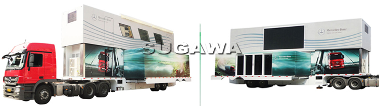 выставочный фургон для показы-торгова