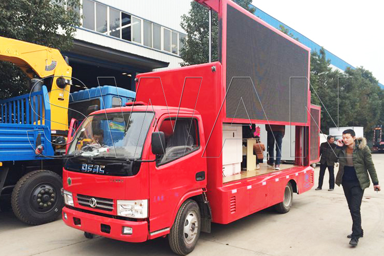 наружной грузовикрекламы