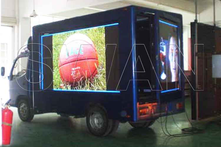 Мобильный светодиодный цифровой рекламный грузовик