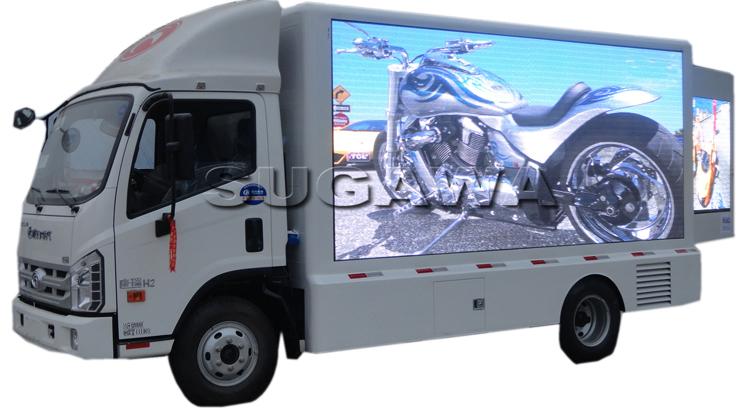 светодиодный рекламный грузовик